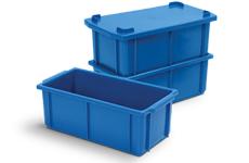 caixa plastica fechada 4,5 litros