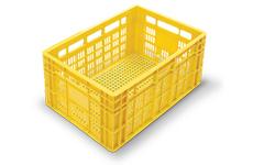 caixas plasticas vazadas 60x40x24 cm