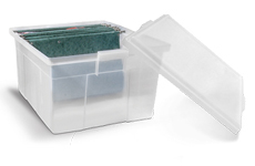 caixa plastica para pasta suspensa