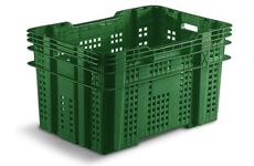 Caixa Plástica Vazada 90 litros