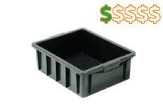 caixa plastica fechada 15 litros thumb