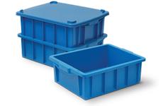 caixa plastica fechada 15 litros