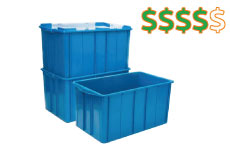 caixa plastica fechada 180 litros thumb