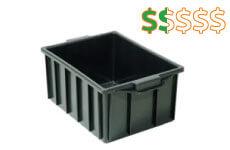 caixa plastica fechada 26 litros thumb