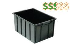 caixa plastica fechada 38 litros thumb