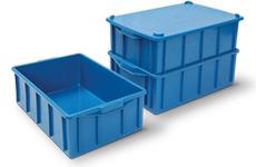 caixa plastica fechada 39,5 litros