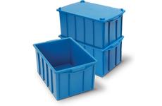 caixa plastica fechada 41 litros