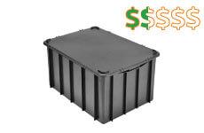 caixa plastica fechada 60 litros thumb