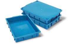 caixa plastica fechada 7 litros