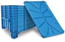 caixa plastica fechada 372 litros
