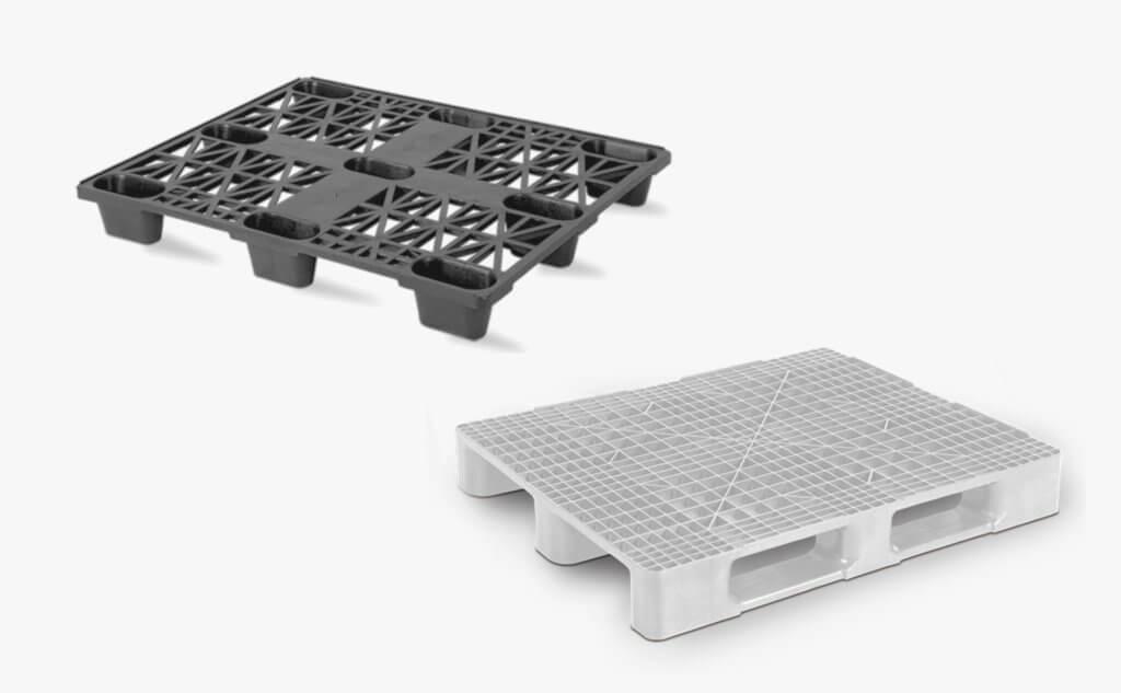 modelos de pallets de plástico vazados