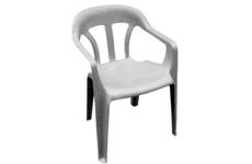 Cadeira de Plástico Martinique com Braços