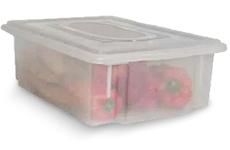 Caixa Plástica Organizadora Transparente 11 litros