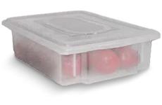 Caixa Plástica Organizadora Transparente 7 litros