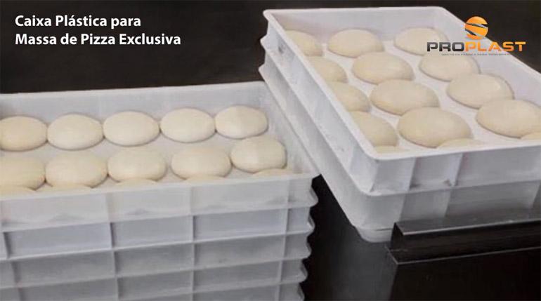 Caixa para fermentação de massa