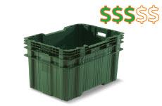 caixa plastica fechada 90 litros super forte thumb