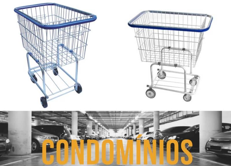 carrinho de compras condominio