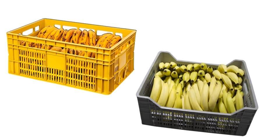 Imagem ilustrativa de uma caixa para banana