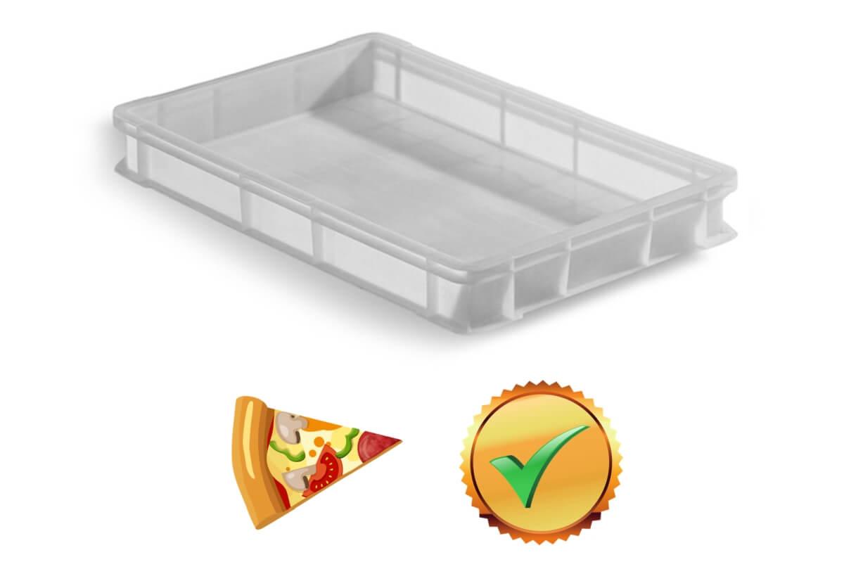 Caixa para massa de pizza