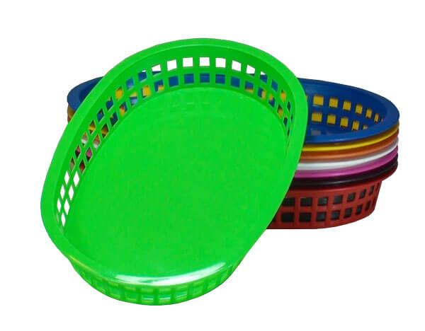 cestas plasticas tipo pastel pastelaria
