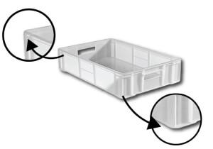 caixa plastica congelamento cantos arredondados