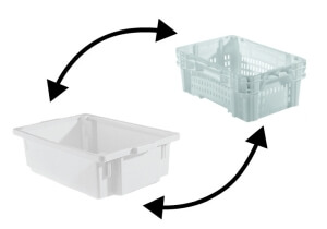 caixa plasticas para congelamento vazada fechada